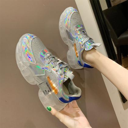 Transparent Sneakers Women Harajuku..